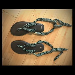 Sanuk Yoga Slinged up / Gladiator Sandals